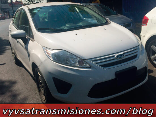 Transmision Automatica Power Shift Ford Focus Fiesta sin Reversa